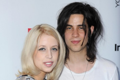 Peaches Geldof and Tom Cohen.
