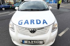 Gardaí injured after patrol car 'rammed' in Portlaoise, four men arrested
