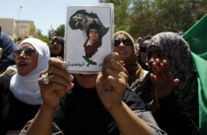 Gaddafi accused of using children's parks as shields