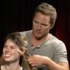 Actor Chris Pratt reveals glorious talent for plaiting hair during interview
