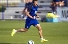 Coleman misses Everton's pre-season tour through injury