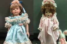 US police investigate creepy dolls modelled after young girls left outside family homes