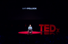 Blind, paralysed...and bald: But Mark Pollock's TEDx talk is about possibilities, not problems