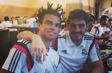 Pepe has gone full Coolio with this ridiculous new haircut