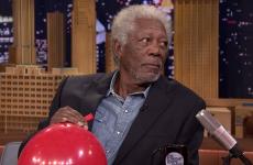 Morgan Freeman chats to Jimmy Fallon on helium, remains amazing