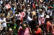 Thousands march against Spain's high unemployment and austerity