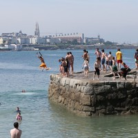"""Coast Guard warns swimmers against """"literally jumping into the unknown"""""""