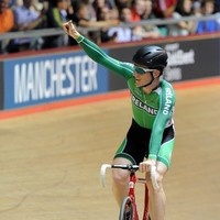 Martyn Irvine back on track in the Commonwealth Games today