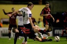 Vinny Faherty blazes 18-minute hat-trick as Galway rout Ramblers