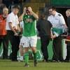 Cork defender Lenihan taken to hospital after awkward fall