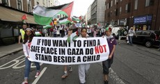 Thousands turn up at demonstrations around Ireland for Gaza