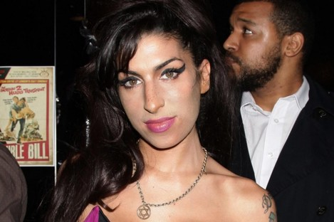 Winehouse at a film premiere in London last year.