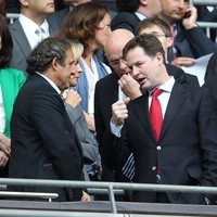 2018 World Cup should not be held in Russia - UK Deputy PM Nick Clegg