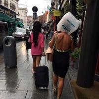 A unique innovation in umbrellas spotted in Dublin