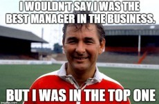 16 of the most memorable Brian Clough quotes