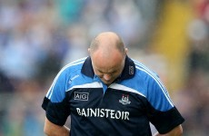 Anthony Daly to take time to 'ponder the future' after Dubs' championship exit