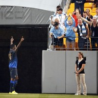 VIDEO: Jovetic at the double as Manchester City thrash Milan