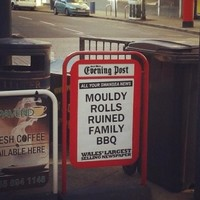 Here is the single most dramatic news headline you'll see today