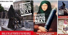 Israel's Irish embassy deletes picture of Molly Malone in niqab
