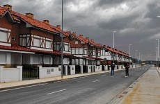 Spain has ghost estates too and jobless families are starting to squat in them