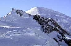Two Irishmen killed in a fall on Mont Blanc