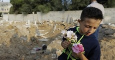 Human remains disturbed as missile strike hits Gaza cemetery