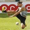 Zlatan follows up Hong Kong fashion show with stunning backheel goal