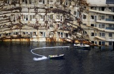 Man who honeymooned aboard Costa Concordia is helping to dismantle the ship