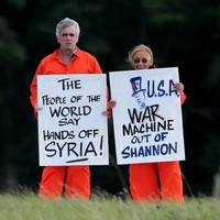 Anti-war activist to be arrested and jailed for Shannon Airport protest