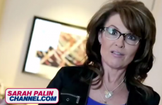 Have a spare €7 per month? Why not subscribe to Sarah Palin's new web TV channel...