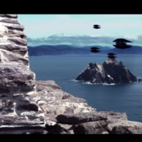 Star Wars filming begins on Skellig Michael as exciting footage emerges