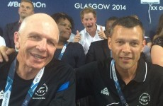 Britain's royal family is on a photobombing rampage at the Commonwealth Games