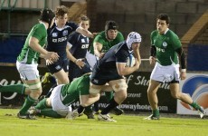 Defeat of Scottish lands semi-final place for Ireland U20s