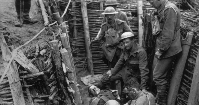 Ever hear of the Irish Jesuit priest who volunteered for WW1 and took these amazing pictures?