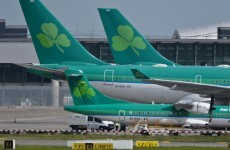 How did industrial action affect Aer Lingus' revenue?