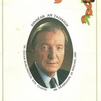 Helicopter rides and cigars: Here's what dinner with Charlie Haughey was like in 1987