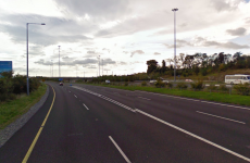 "M50/N11 ""at a standstill"" after crash"
