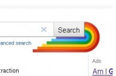 Google marks Gay Pride month by adding a rainbow