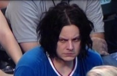 Sad Jack White was briefly happy last night