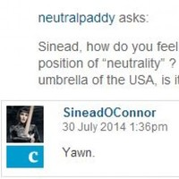 Sinéad O'Connor did a Q&A with Guardian readers and her responses are excellent