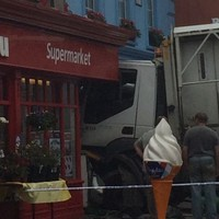 Truck crashes into Dingle shop
