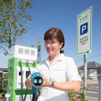 "You can now find a plug-in point for your electric car ""every 60km"""