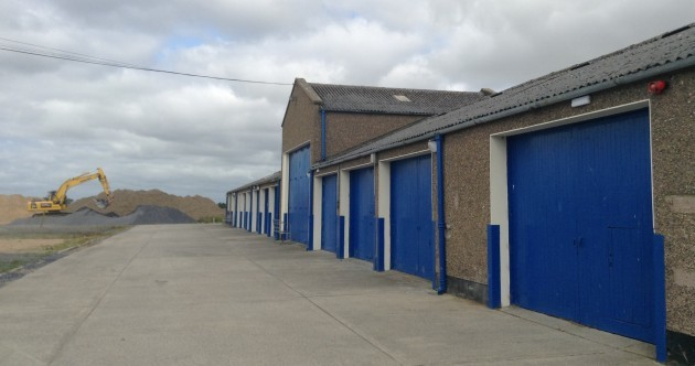 This modest looking shed houses some of Ireland's most dedicated young Olympians