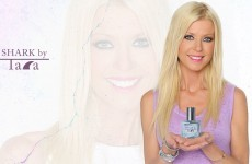 Tara Reid is releasing a fragrance called Shark by Tara, thank God