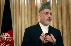 Karzai warns US pullout deadline could be a boost for Taliban