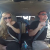 Couple perform Grease hit in their car... using sign language