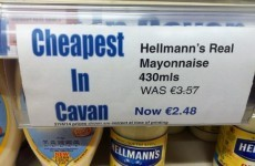 Is this the cheapest Mayonnaise in Cavan?