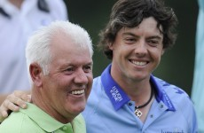 Rory's father Gerry will hit £50,000 jackpot from bookies if his son wins the Open