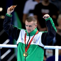 Paddy Barnes wasn't impressed with the anthem after winning gold