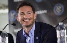 Pellegrini confirms Frank Lampard's loan move to Man City